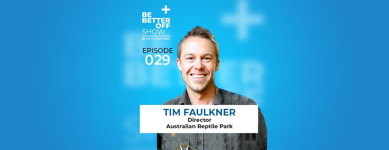Tim Faulkner Director of The Australian Reptile Park on The Be Better Off Show Podcast